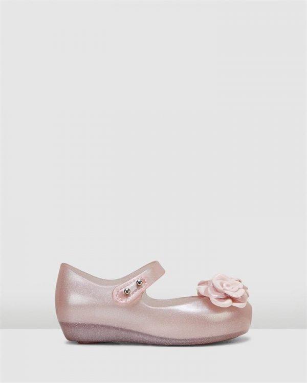 Ultragirl + Flower Bb Pink Glitter Translucent