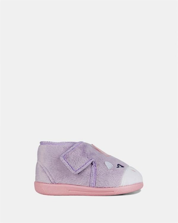 Unicorn Slipper Lilac/Pink