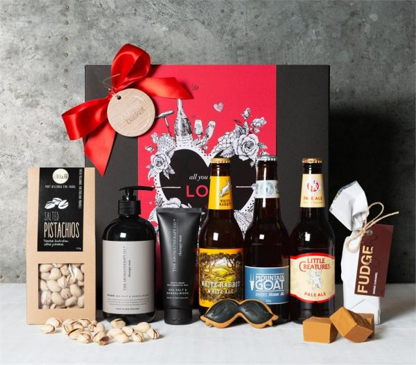 Valentine Beer & Pamper Hamper