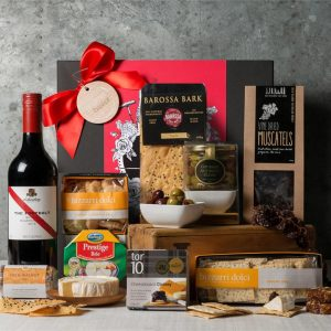 Valentine Cheese & Wine Hamper