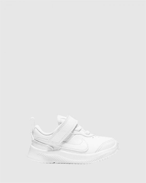 Varsity Leather Inf White/White
