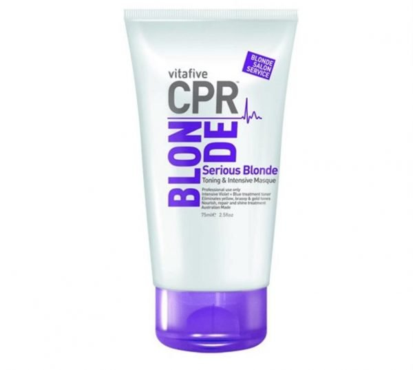 Vitafive CPR Blonde Serious Blonde Intensive Masque 75ml