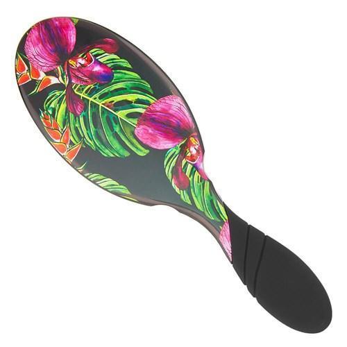 WetBrush Pro Detangler Hair Brush Neon Tropics Black