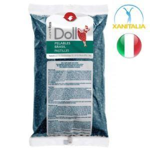 Xanitalia Pelables Strip Less Hard Wax Azulene Blue