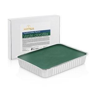 Xanitalia Techno Strip Less Hard Wax Green Chlorophyll