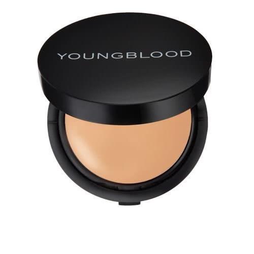 Youngblood Creme Powder Foundation - Warm Beige 7g