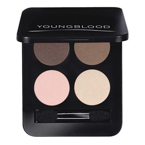 Youngblood Pressed Mineral Eyeshadow Quad - Shanghai Nights 4 x 4g