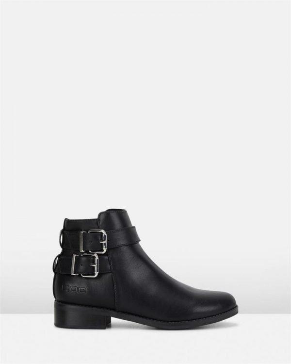 Zeus Boot Black