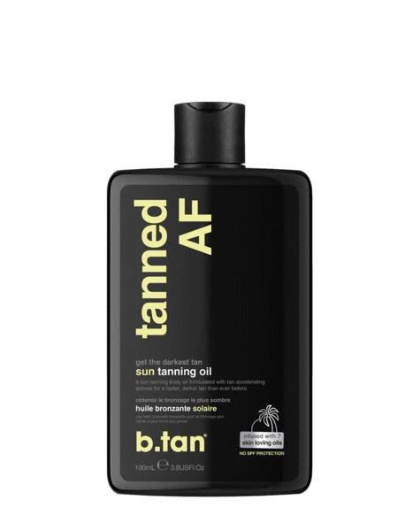 b.tan Tanned AF Tanning Oil 100ml