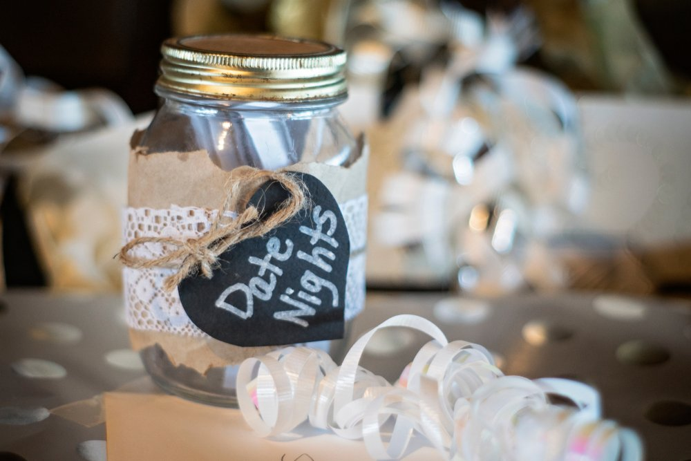 Romantic And Practical Gifts For Your First Anniversary Date Night Jar