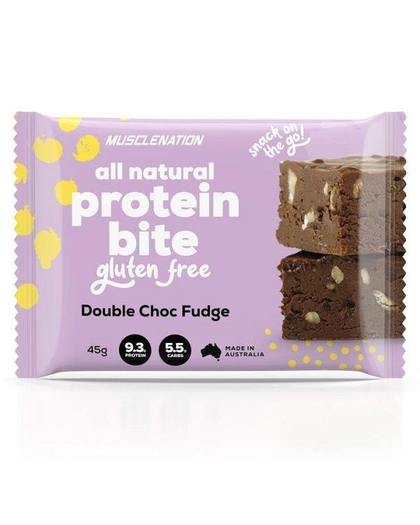 All Natural Protein Bite DOUBLE CHOC FUDGE - BOX OF 5
