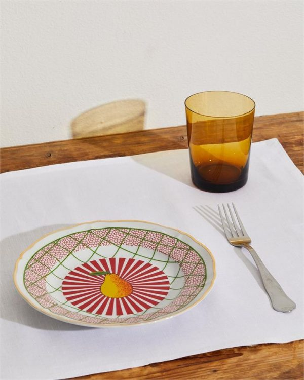 Bitossi Home Round Pear Plate - Bed Threads