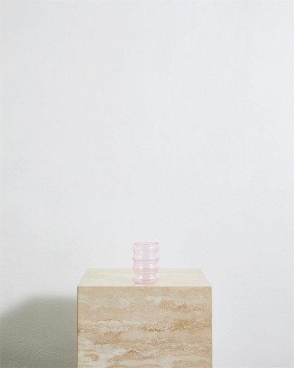 Sophie Lou Jacobsen Ripple Cup in Pink - Bed Threads