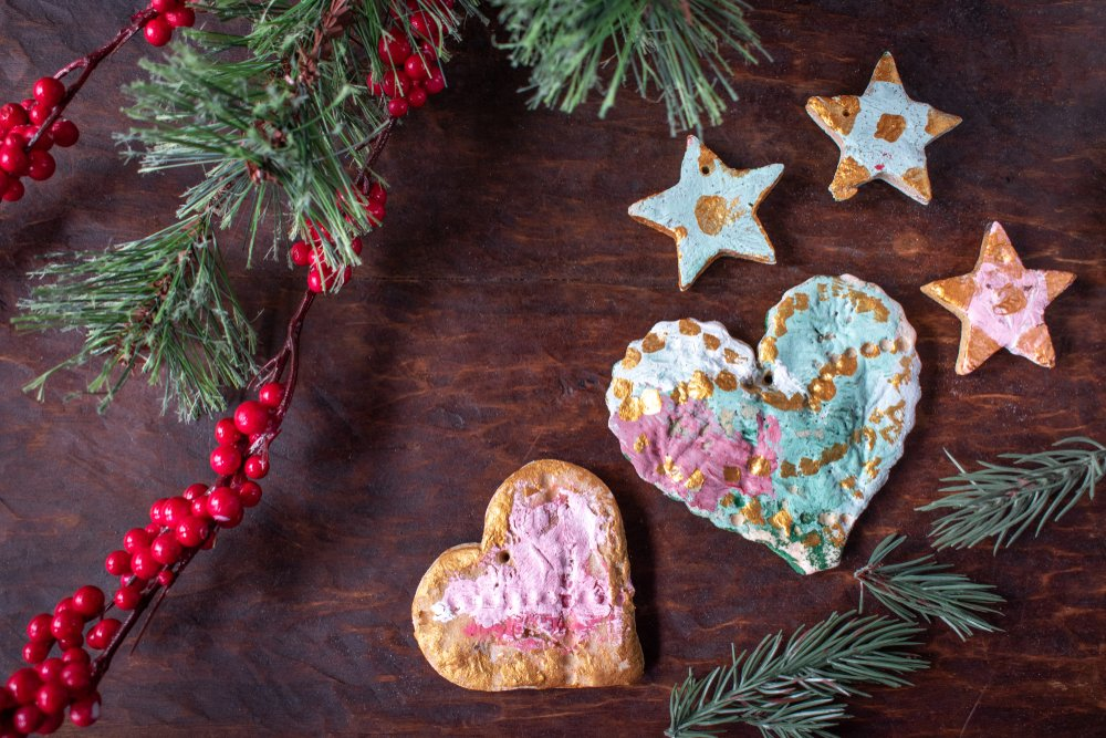 The Best Christmas Crafts For Toddlers Salt Dough Christmas Decorations