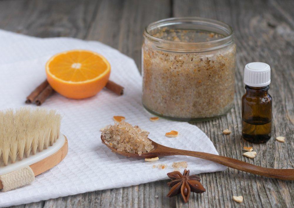 DIY Christmas Gift Sugar Scrub Bonus Recipe Gingerbread Sugar Scrub