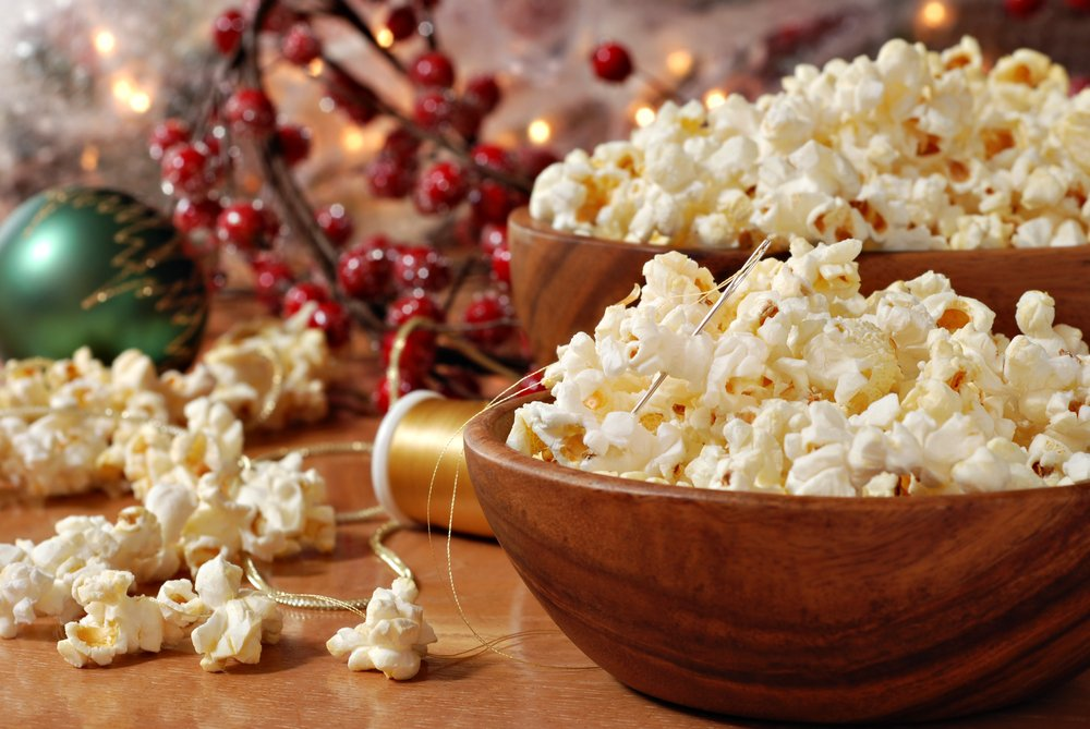 The Best Christmas Crafts For Toddlers Popcorn Garland