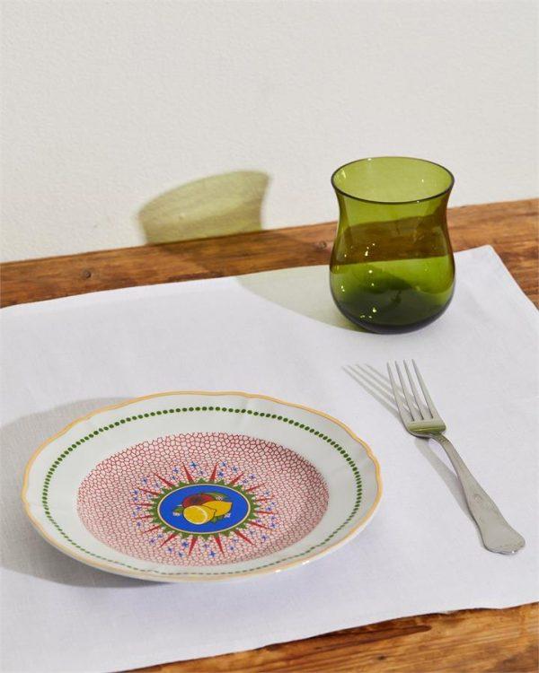 Bitossi Home Round Lemon Plate - Bed Threads