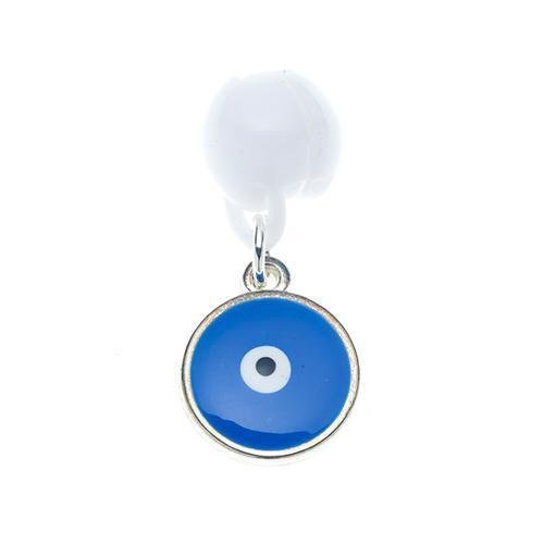 Clipacharm Enamel Pendants - Eye Blue