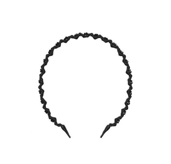 Invisibobble HairHalo True Dark Sparkle Headband