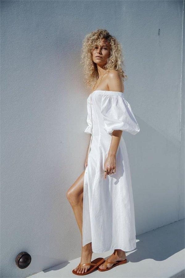 LUER FLOOR LENGTH DRESS - 10