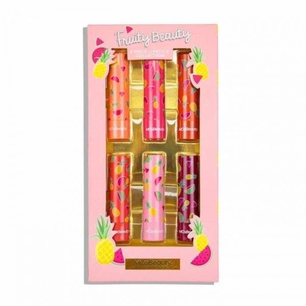 MCoBeauty Limited Edition 6 Piece Fruity Beauty Mini Lipsticks