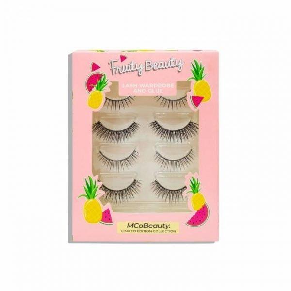 MCoBeauty Limited Edition Fruity Beauty Lash Wardrobe & Glue