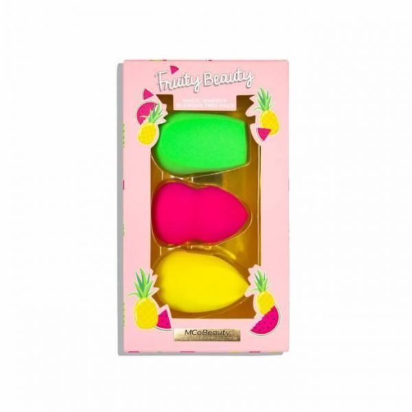 MCoBeauty Limited Edition Fruity Beauty Magic Makeup Blender Trio Pack