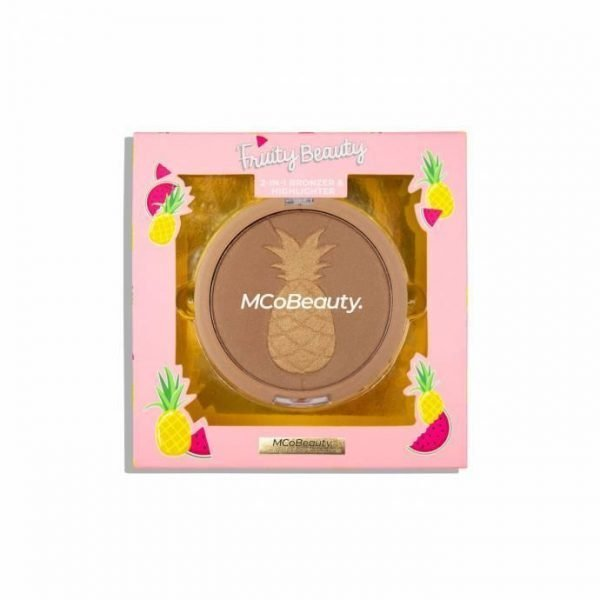MCoBeauty Limited Edition Fruity Beauty2-in-1 Bronzer & Highlighter