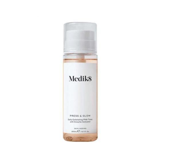 Medik8 Press & Glow Daily Exfoliating PHA Tonic 200ml