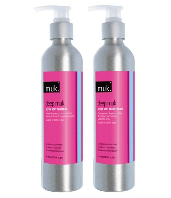 Muk Deep Muk Ultra Soft Shampoo and Conditioner 300ml Duo Pack