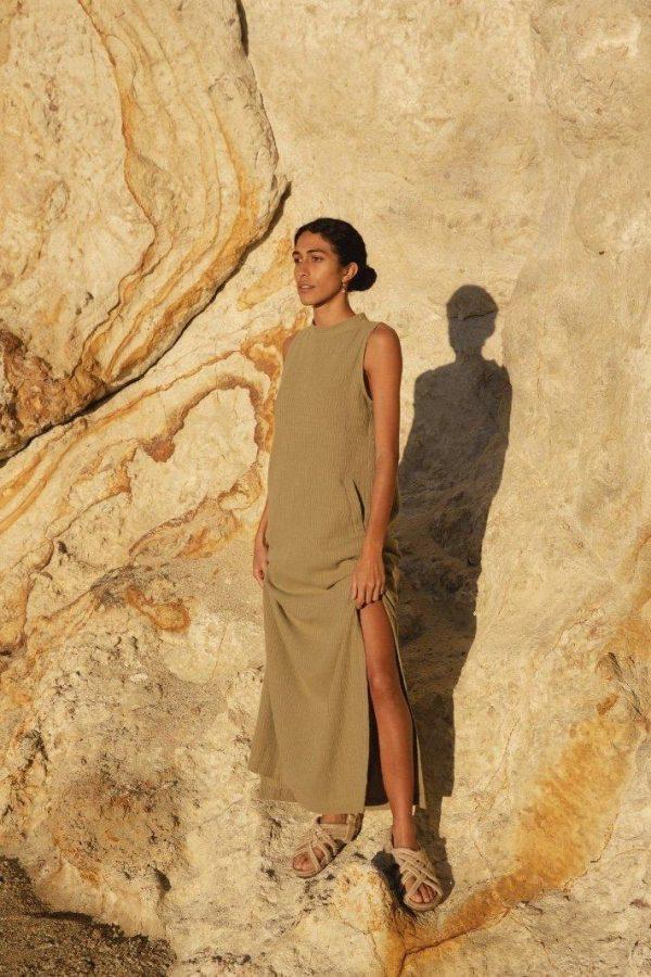 NEO FLOOR LENGTH DRESS - 14