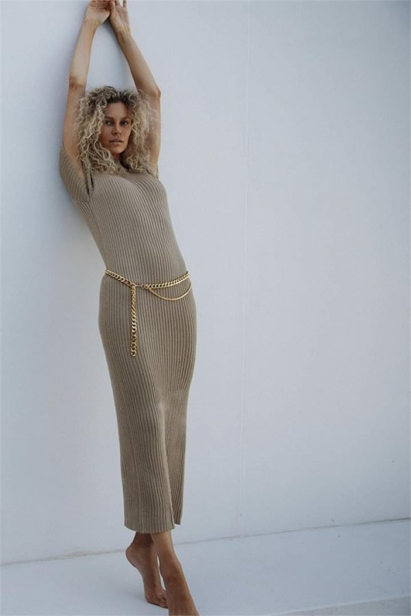 REALM KNITTED DRESS - 10