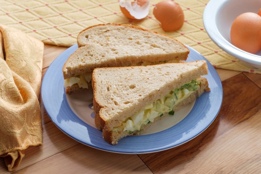 Lunchbox Ideas For A Healthy School Year Egg Mayo Whole Wheat Bread