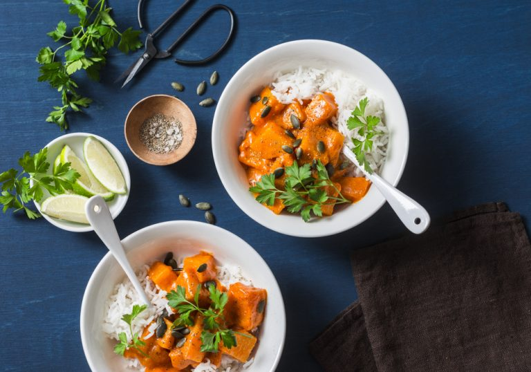 Meat-Free Satay Sweet Potato Curry