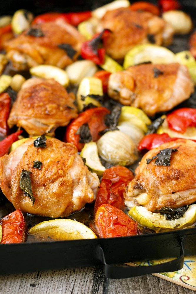 Quick And Healthy Chicken Roast