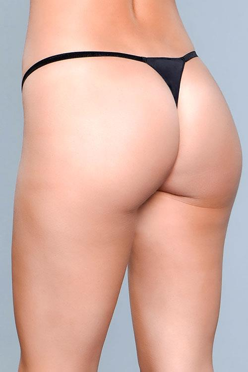 Be Wicked My Go-To Black Thong