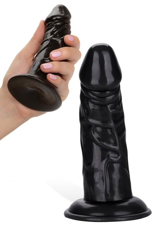 "California Exotic 5.5"" Chubby Realistic Dildo with Suction Cup"