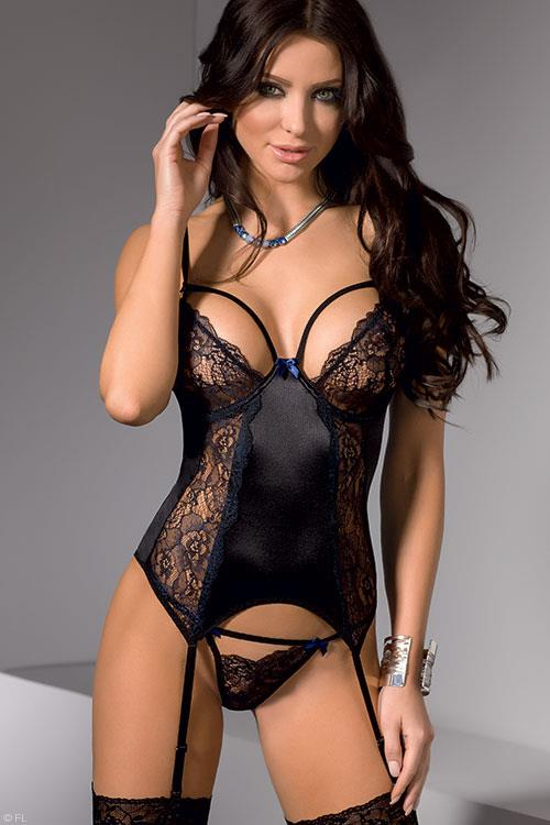 Casmir Keith Bustier with Thong