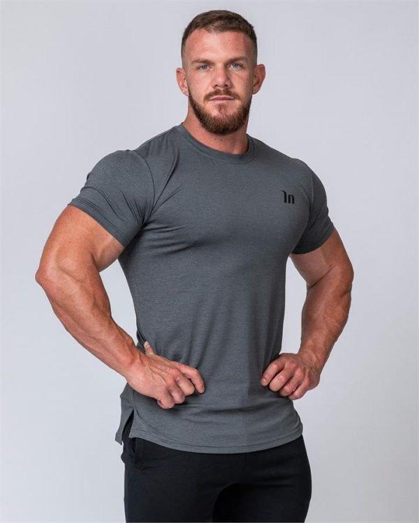 ClimaFlex Tshirt - Charcoal Marl - S