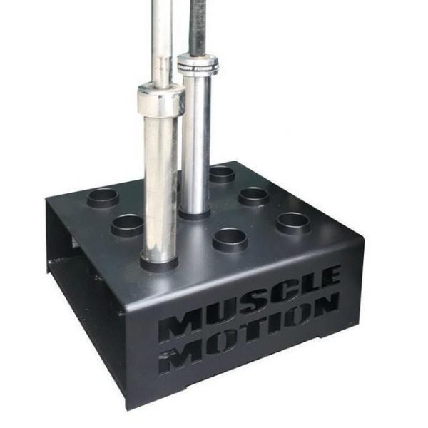 Commercial 9 Hole Olympic Barbell Holder