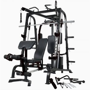 Deluxe Smith Machine + Adjustable Bench (SALE ITEM)