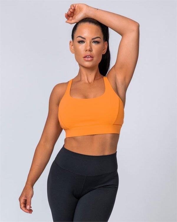 HIIT Bra - Tangerine - XL