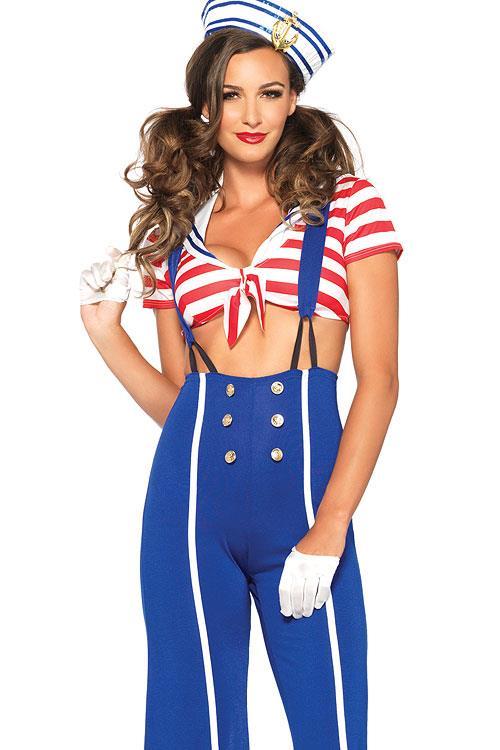 Leg Avenue 3 Pce Blue Sailor Costume