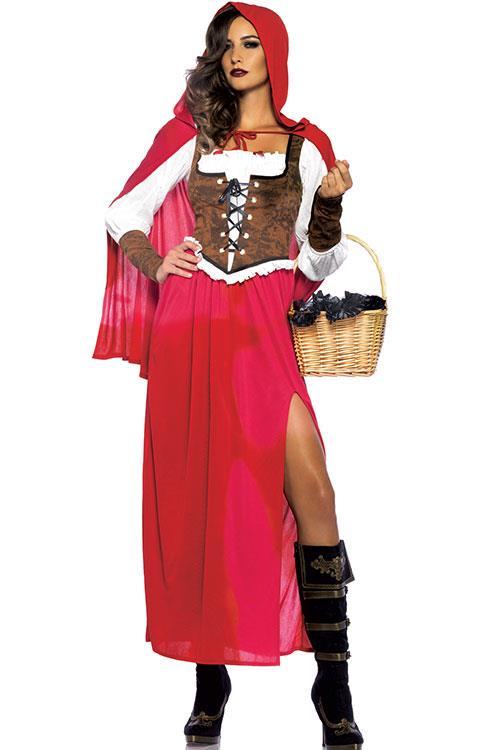 Leg Avenue 3 Pce Red Riding Hood Costume