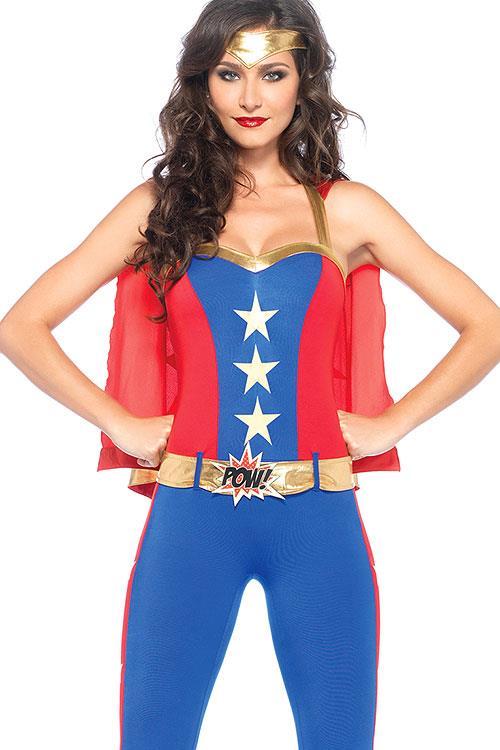 Leg Avenue 3 Pce Superhero Women's Costume