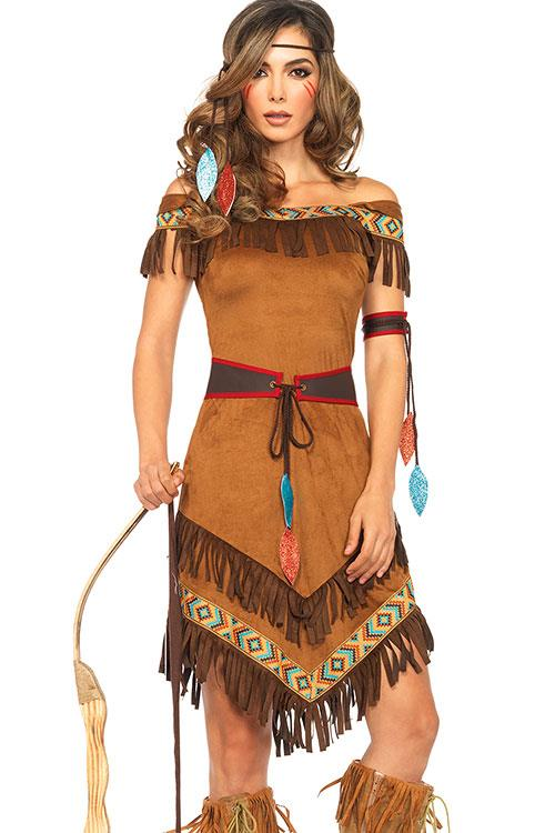 Leg Avenue 4 Pce Native Princess Costume