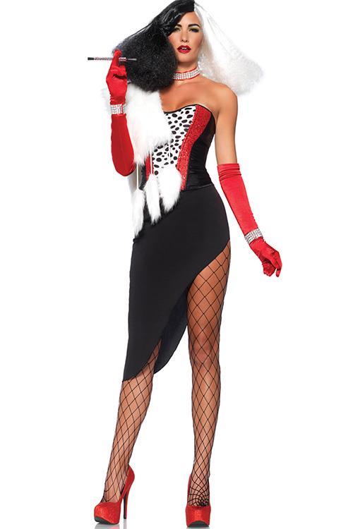 Leg Avenue 5 Pce Cruella De Vil Costume