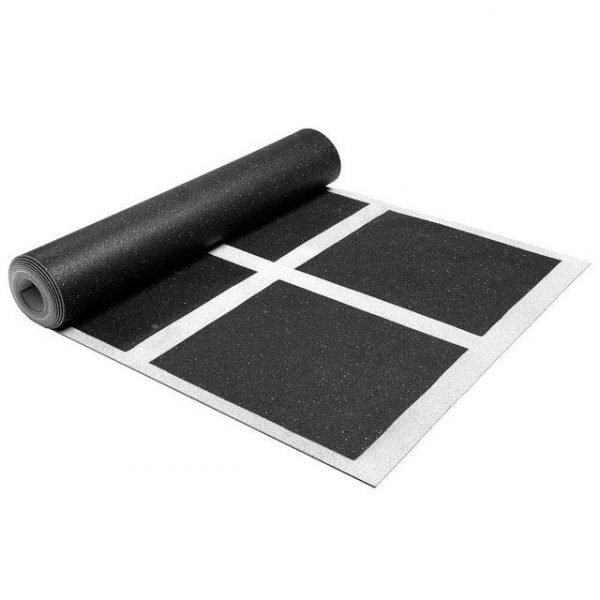 MORGAN 4.5M DOUBLE STEP RUBBER ROLL OUT AGILITY LADDER