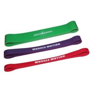 Mini 12 Power bands package - 1 x Red Purple & Green Bands (PACKAGE PRICE)