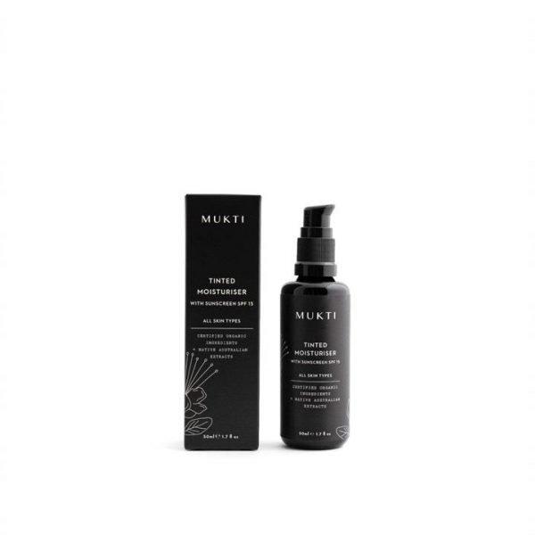 Mukti Organics Tinted Moisturiser With Sunscreen 50ml